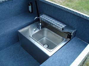 Fabcraft ATV Trailer sink